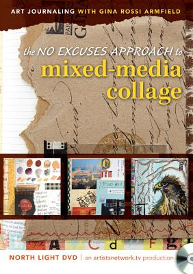 [DVD] No Excuses Journaling With Mixed-media Collage By Armfield, Gina